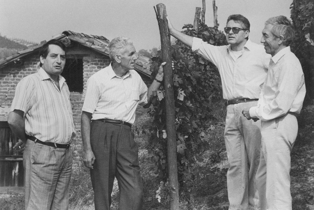 1987 - Nasce il progetto Vigne Vecchie