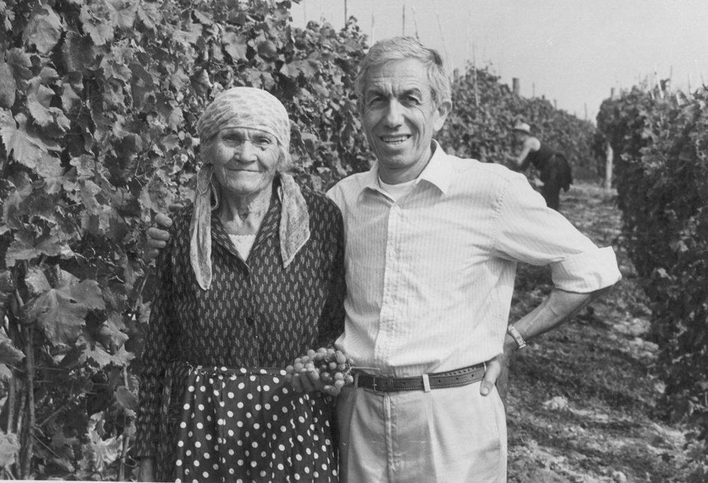 1987 - Vendemmiando il Vigne Vecchie_Mognä Majina e Franco Laiolo
