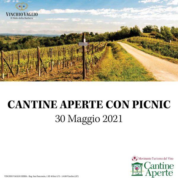 Cantine aperte con picnic 30/05/21 | Vinchio Vaglio
